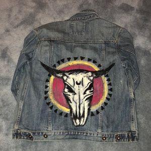 Jackets & Blazers - CUSTOM DENIM JACKET